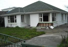 Uninsured damage house Christchurch