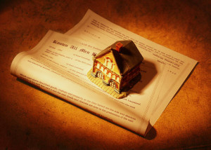 Property in Probate of Will